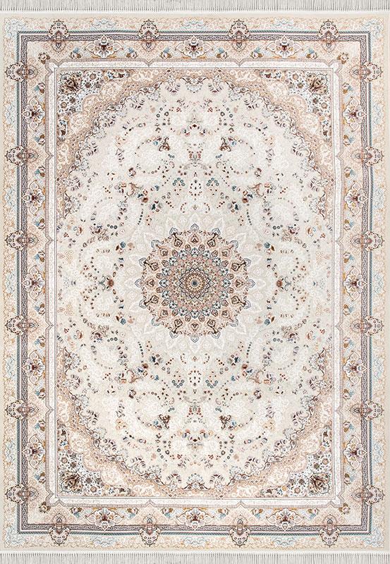 فرش 1500 شانه طرح فلورا